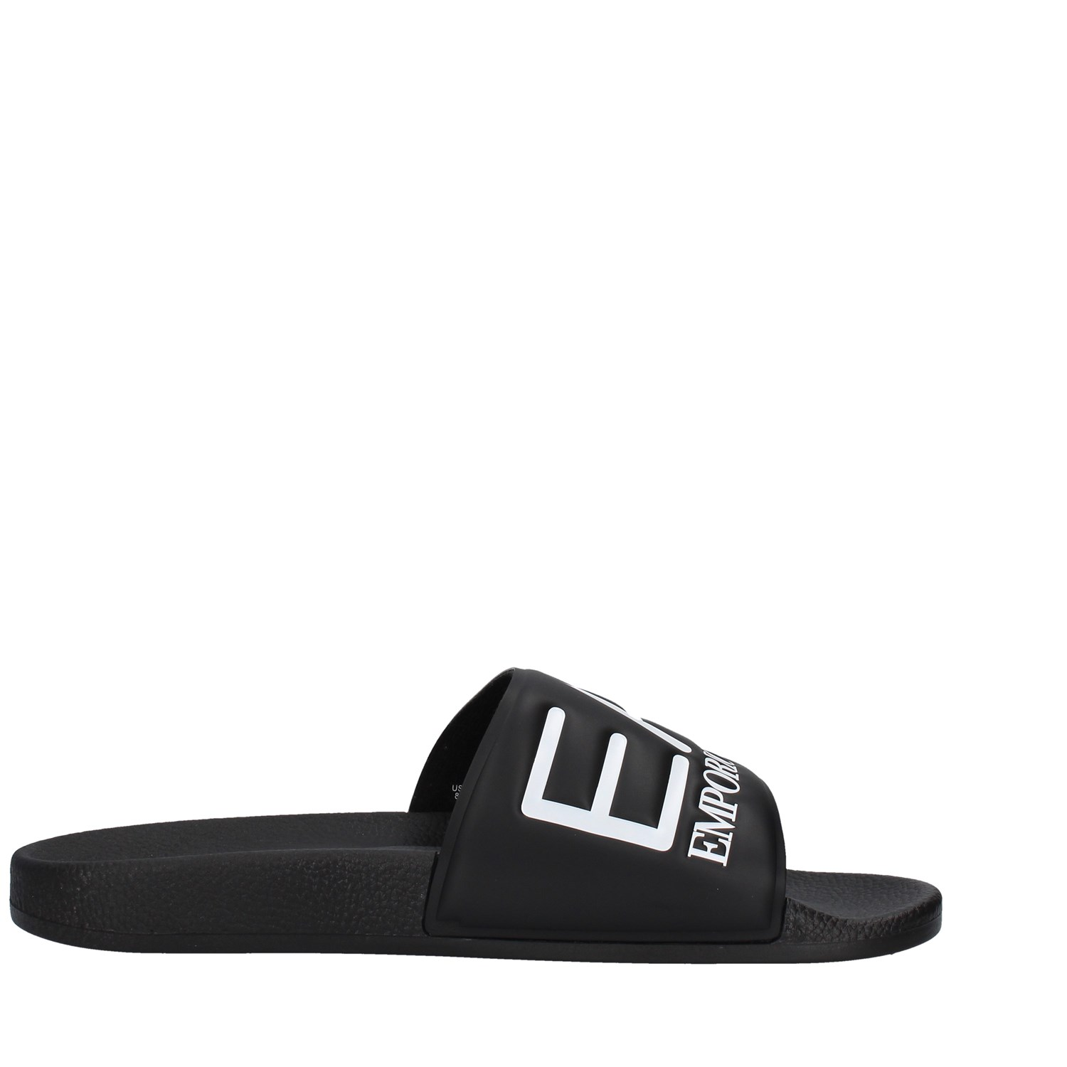 Ea7 Shoes Man slippers BLACK XCP001