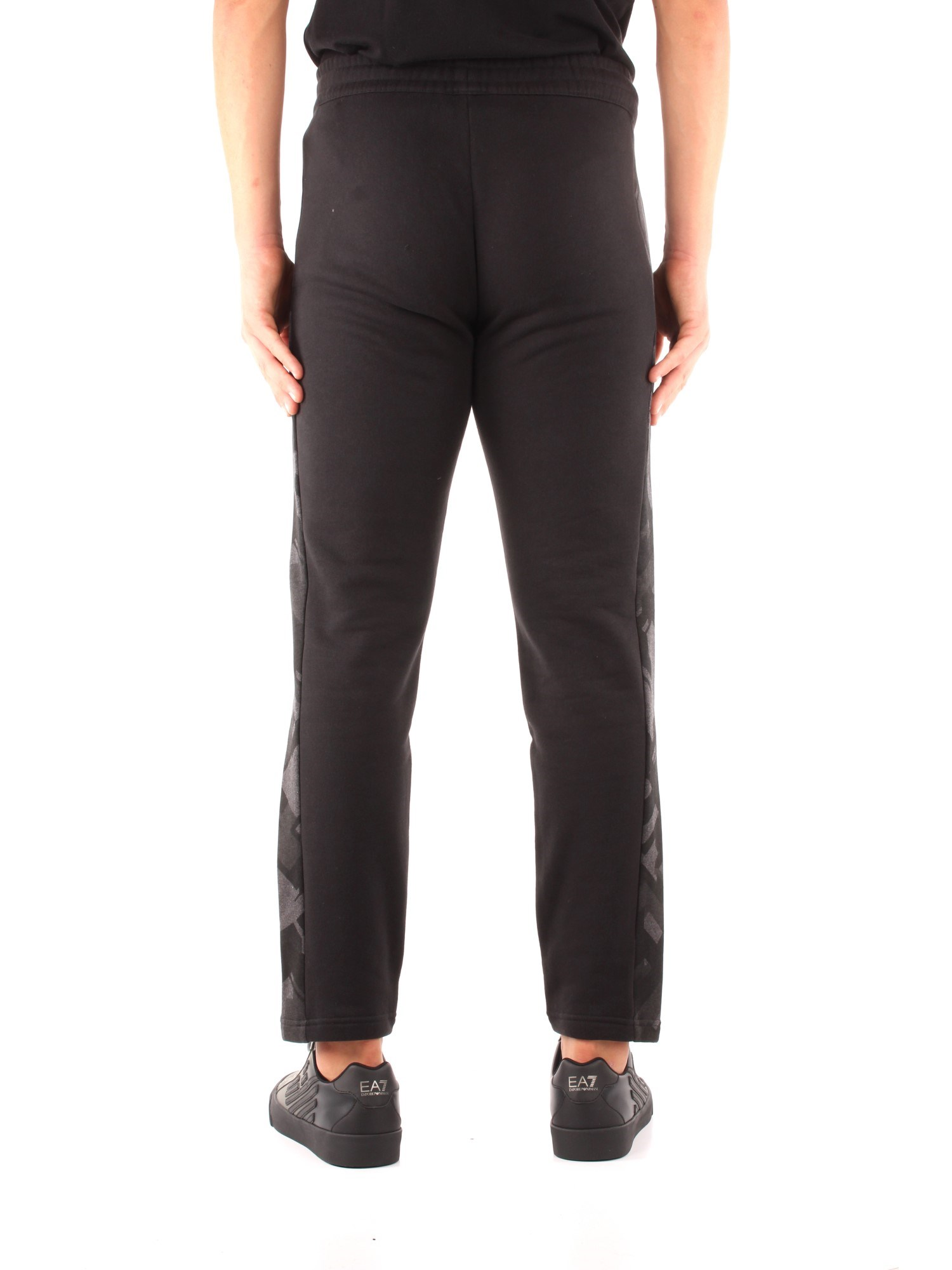 Ea7 Clothing Man Chino BLACK 6GPP60