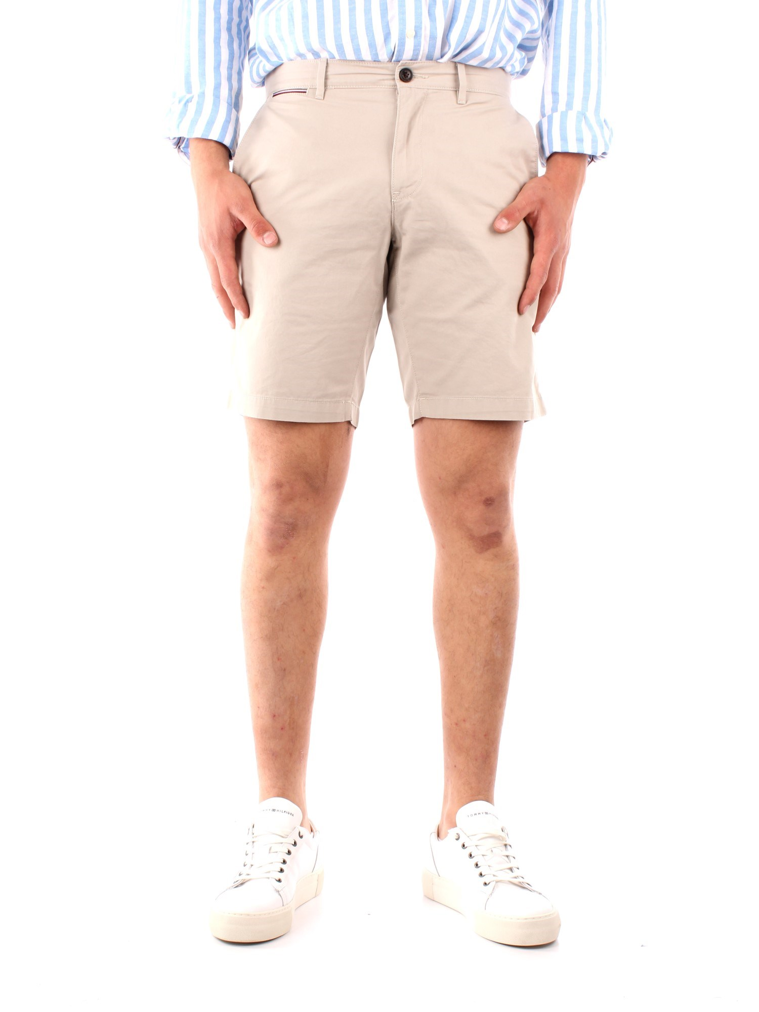 Tommy Hilfiger Clothing Men  To the knee BEIGE MW0MW13536