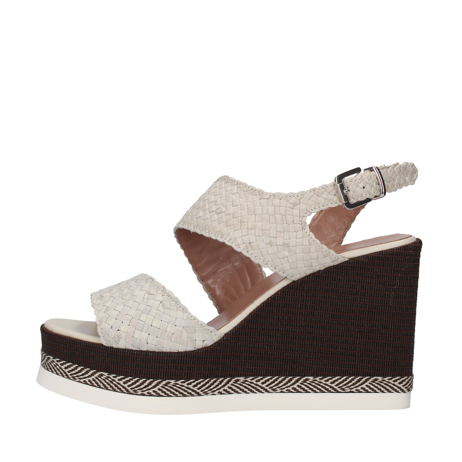 Tres Jolie Shoes Woman With wedge WHITE 2903/VALE/MSL