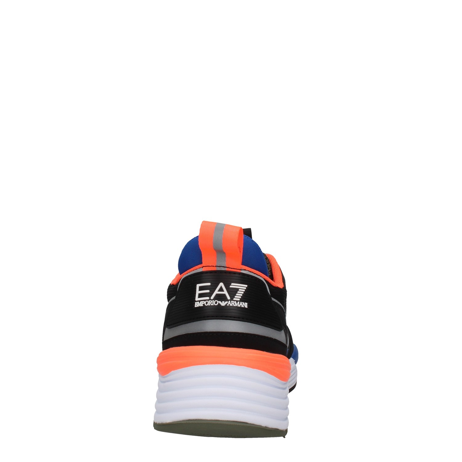 Ea7 Shoes Man low BLUE X8X070