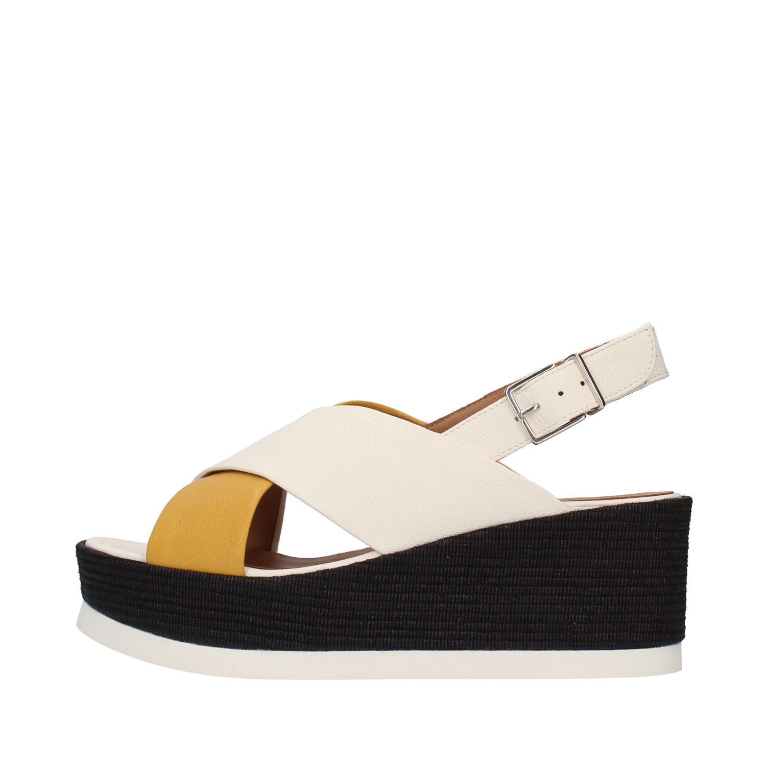 Tres Jolie Shoes Woman With wedge YELLOW 2801/JIL/MS