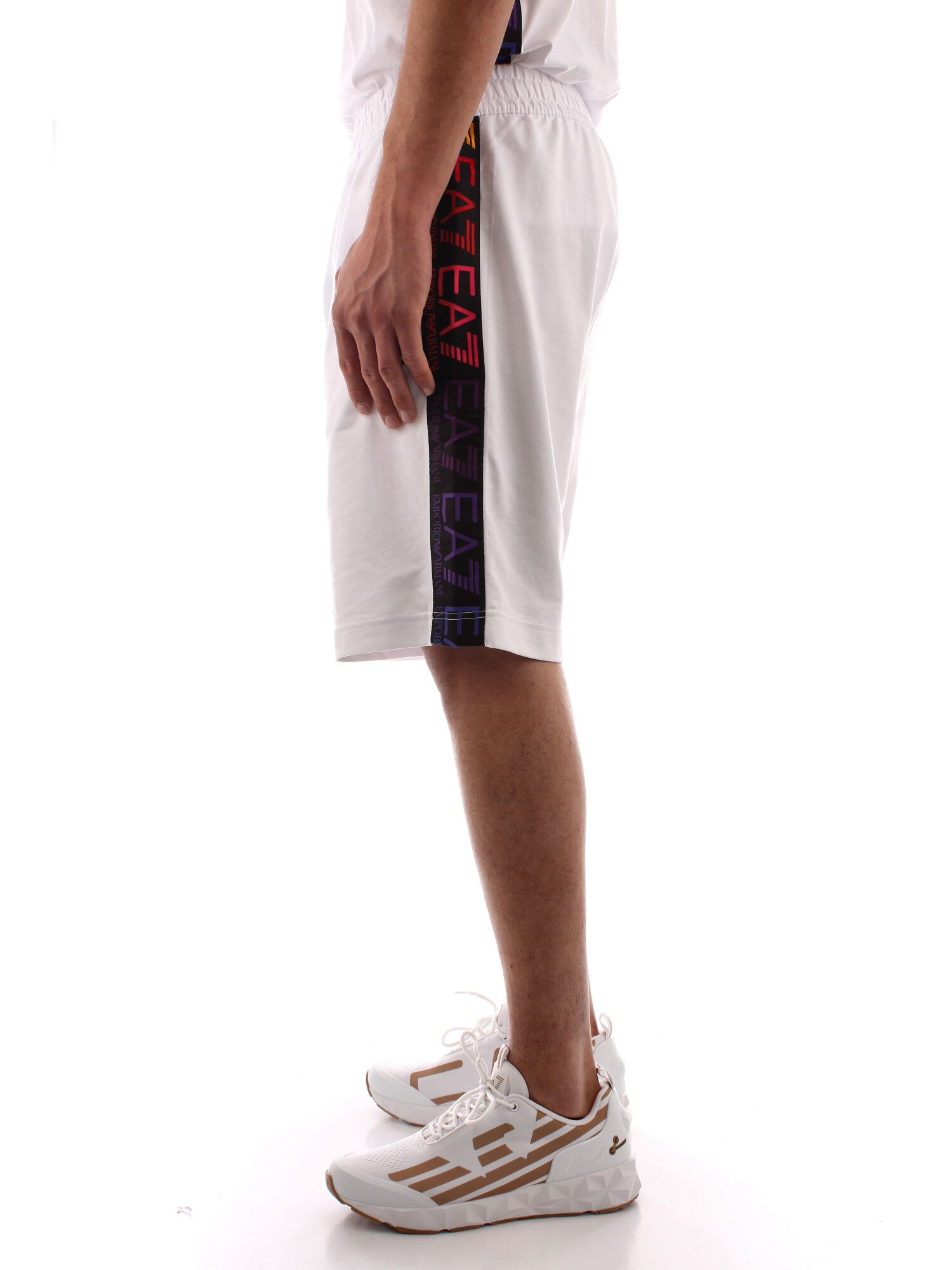 Ea7 Clothing Man bermuda WHITE 3KPS81