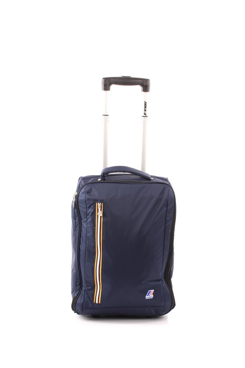 K-way TROLLEY K-WAY K-POCKET CABIN SIZE NAVY BLUE
