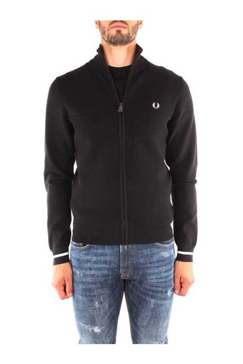 Fred Perry Outerwear BLACK
