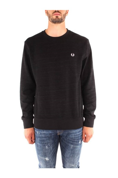 Fred Perry Hooded BLACK