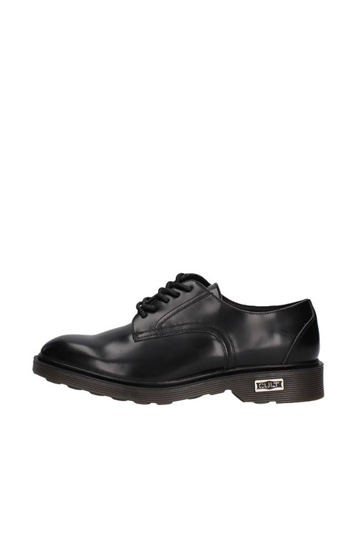 Cult Shoes With Laces BLACK