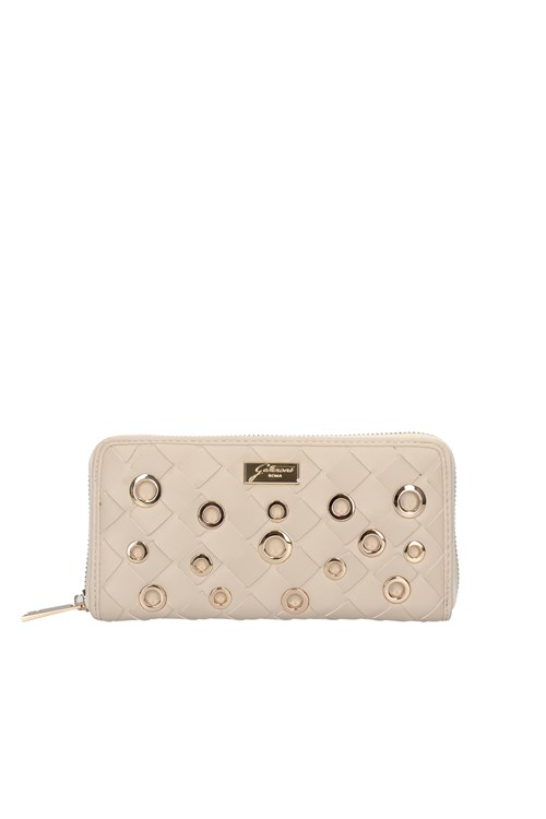 Gattinoni Roma Wallets WHITE