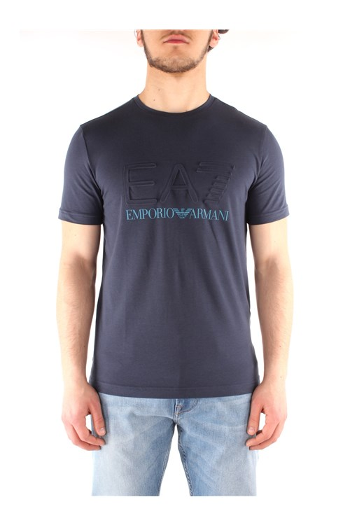 Ea7  Short sleeve NAVY BLUE