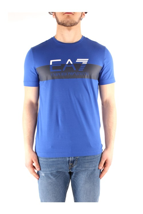 Ea7  Short sleeve LIGHT BLUE
