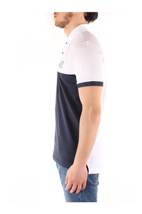 Ea7 Short sleeves WHITE