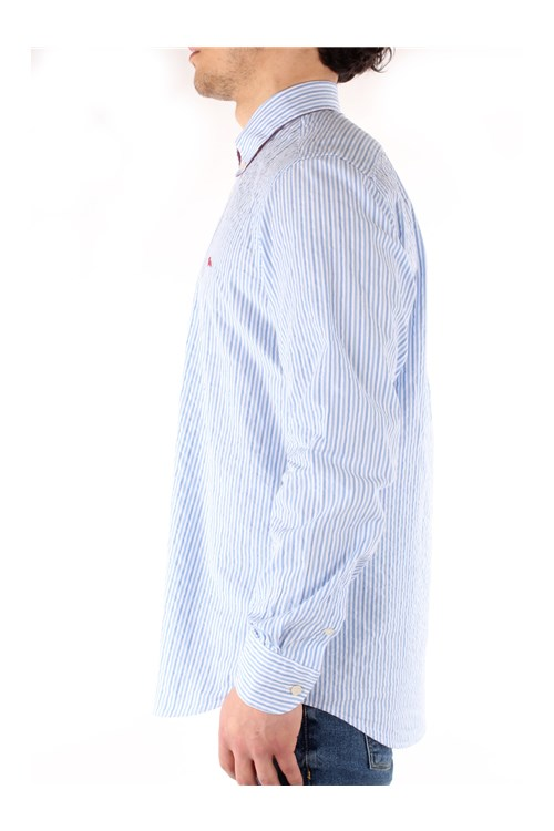 Harmont & Blaine STRIPED SHIRT WHITE