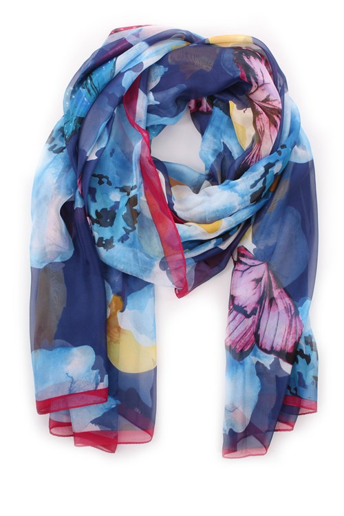 Achigio' Scarves LIGHT BLUE