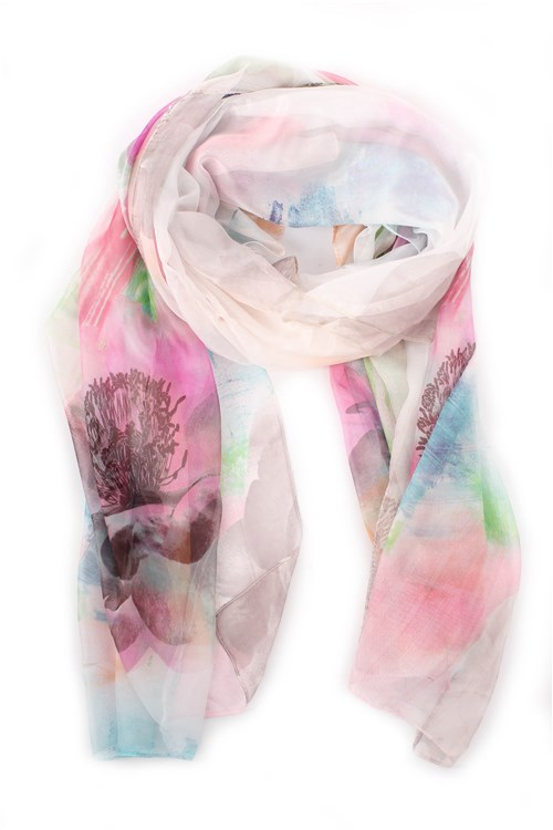 Achigio' Scarves GREY