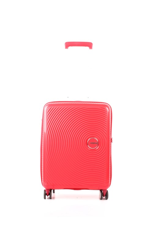 American Tourister SOUNDBOX SPINNER 55 CM ESPANDIBILE RED