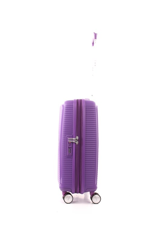 American Tourister SOUNDBOX SPINNER 55 CM ESPANDIBILE VIOLET