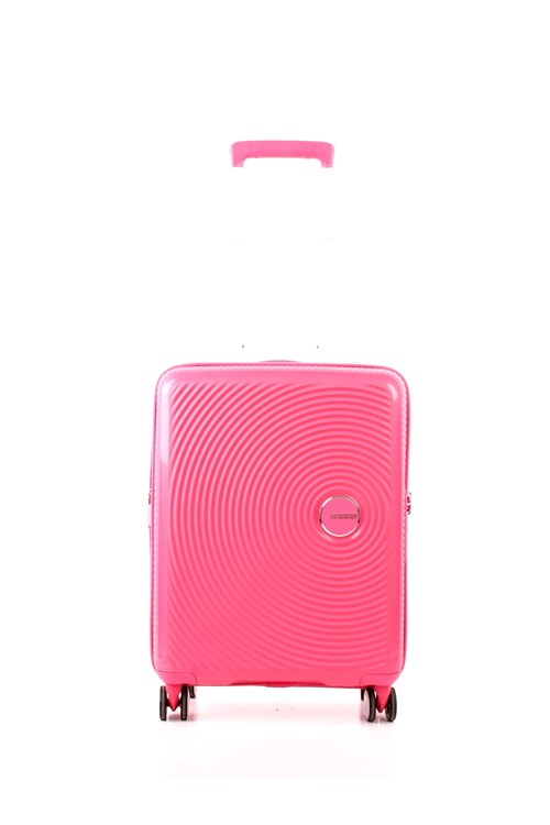 American Tourister SOUNDBOX SPINNER 55 CM ESPANDIBILE PINK