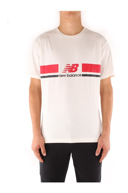 New Balance Short sleeve WHITE