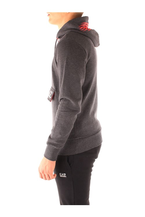 Ea7 Hooded BLACK