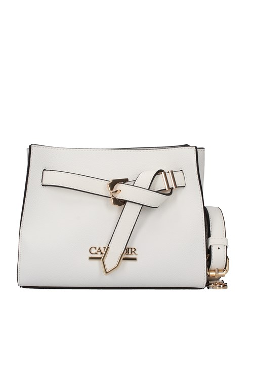 Cafe' Noir Shoulder Bags WHITE