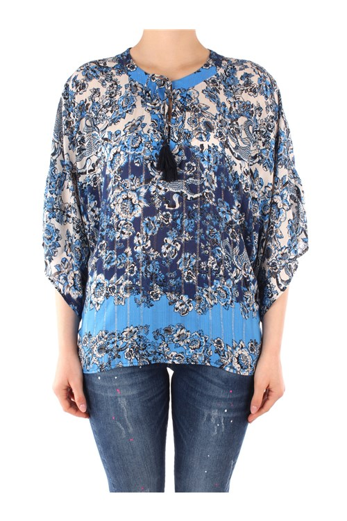 Desigual Blouses LIGHT BLUE