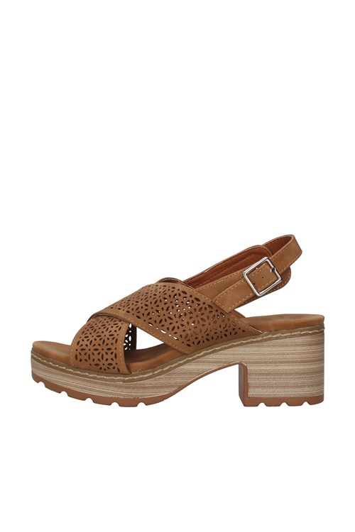 Refresh With heel BROWN
