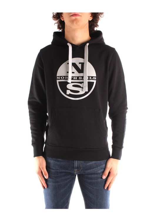North Sails Hooded BLACK