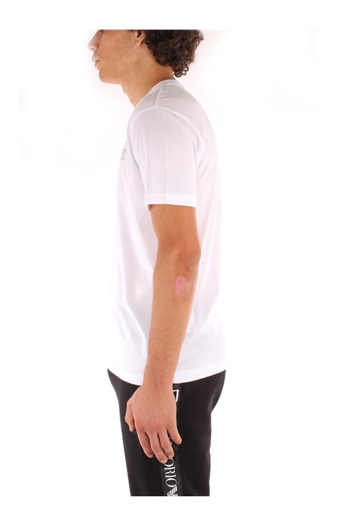 Ea7 Short sleeve WHITE