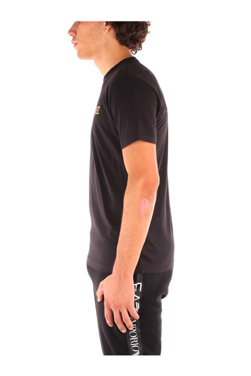 Ea7 Short sleeve BLACK