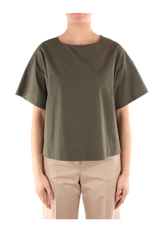 Weekend Maxmara Blouses GREEN