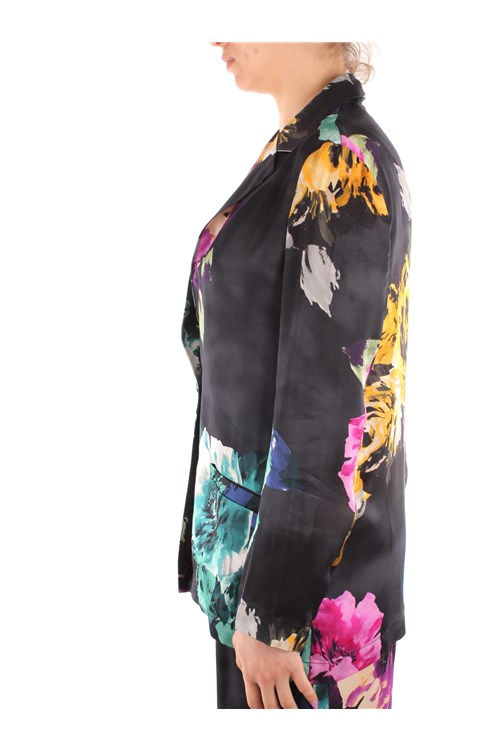 Manila Grace Blazer BLACK