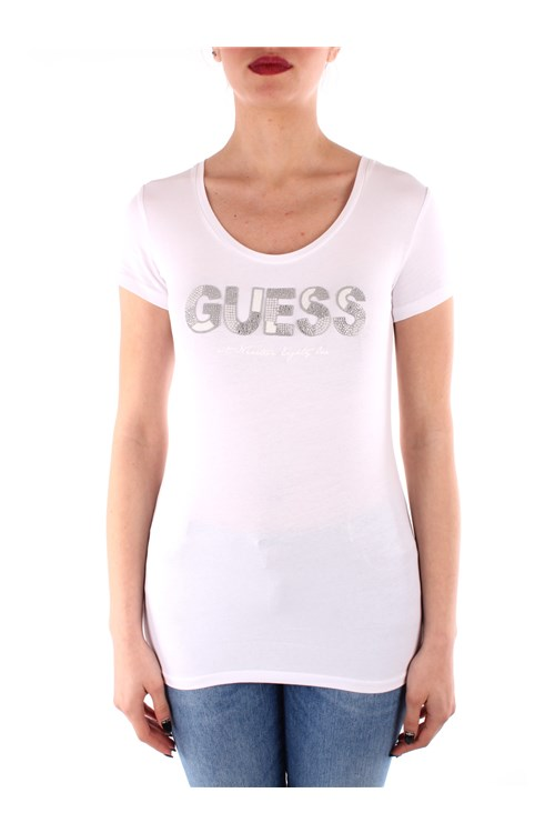 Guess Short sleeve WHITE