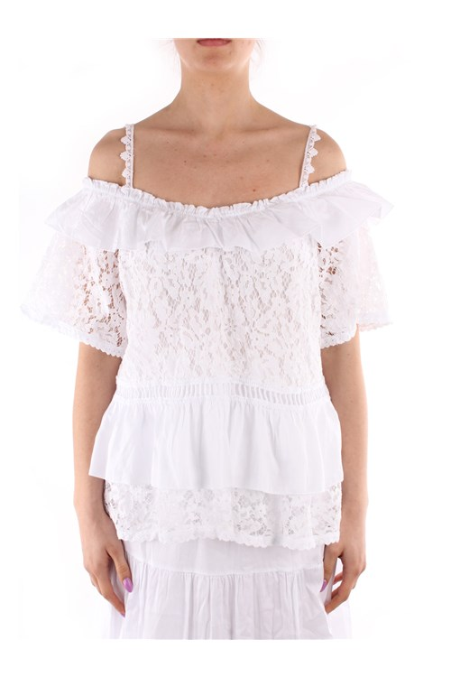 Guess Uncovered Shoulders WHITE