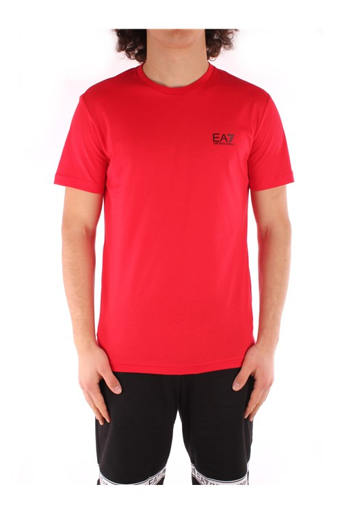 Ea7 Short sleeve RED