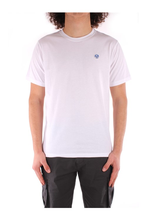North Sails Short sleeve WHITE