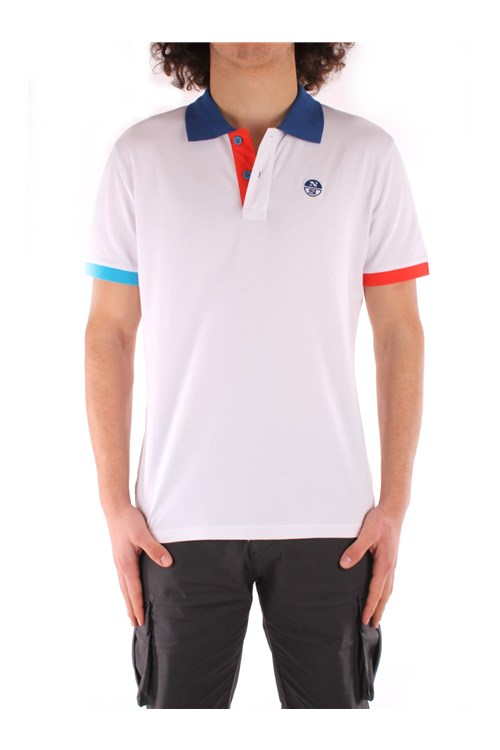 North Sails Short sleeves WHITE