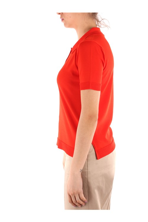Friendly Sweater Short sleeves ORANGE