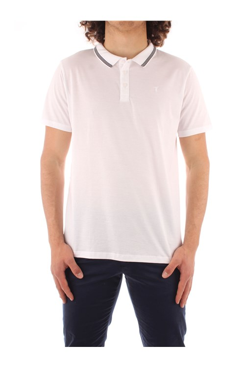 Trussardi Jeans Polo shirt WHITE