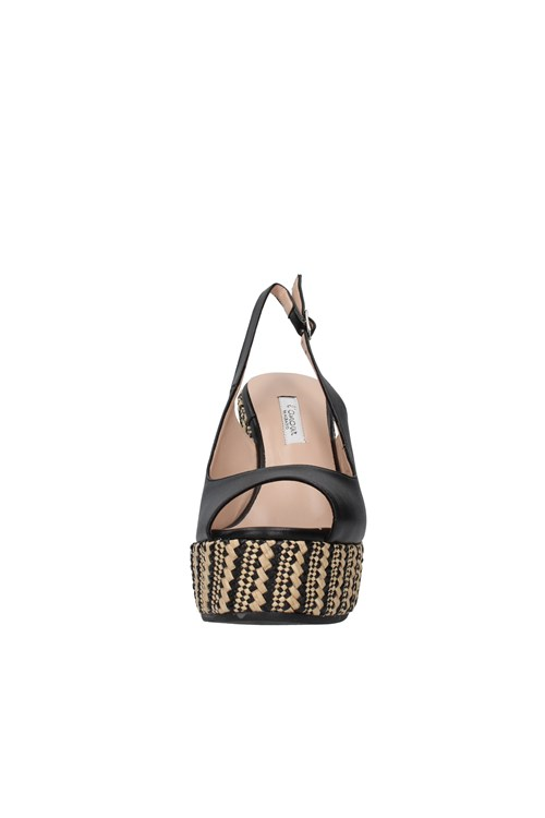 L'amour By Albano With wedge BLACK