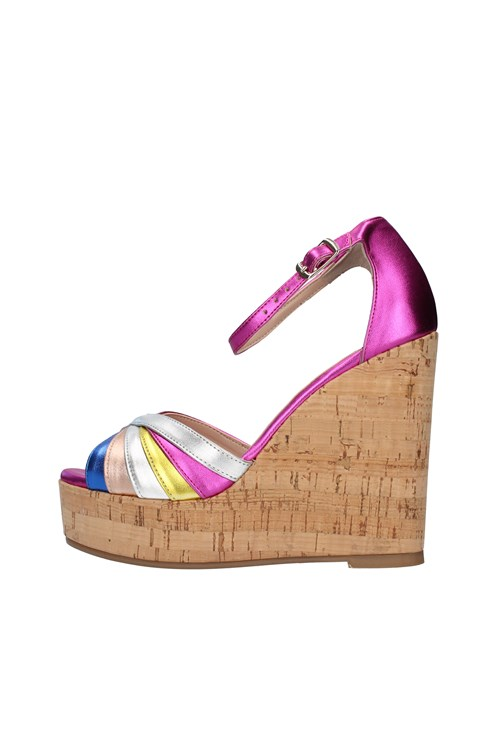 L'amour By Albano With wedge FUCHSIA