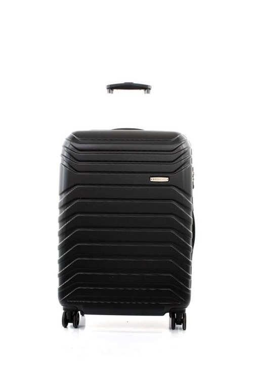 Roncato FUSION TROLLEY MEDIUM 4 WHEELS 65 CM BLACK