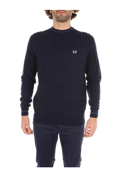Fred Perry Choker BLUE