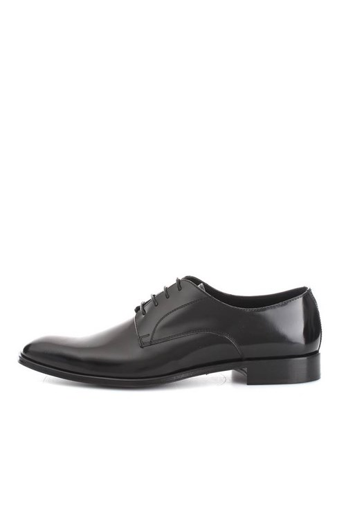 Franco Fedele Shoes With Laces GRAPHITE