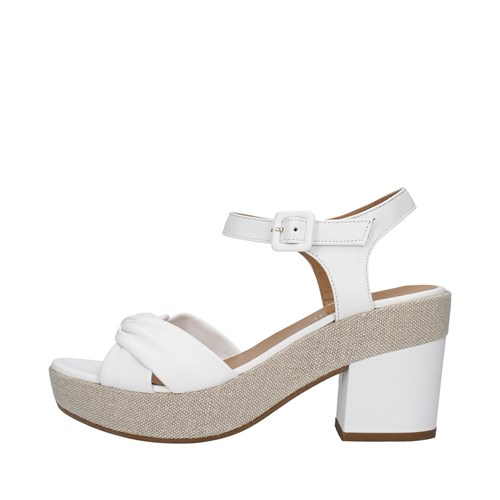 Tres Jolie Shoes Woman With heel WHITE 5103/LEA