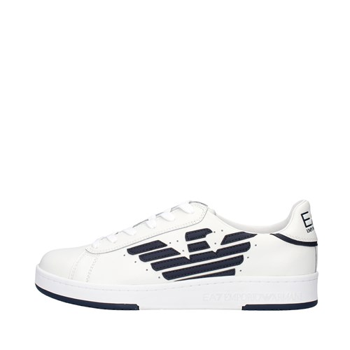 Ea7 Shoes Man Sneakers WHITE X8X043