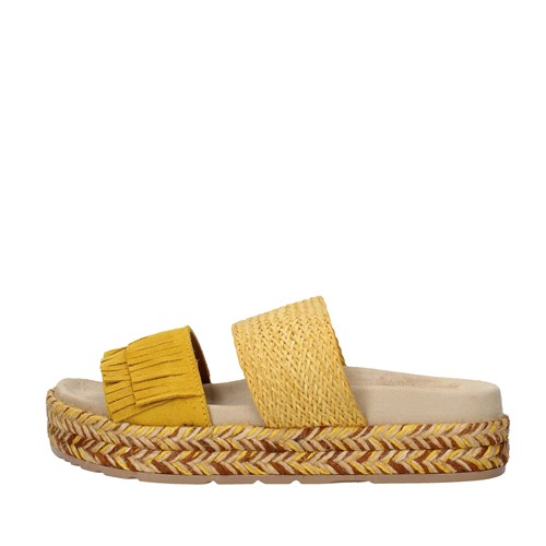 Igi&co Shoes Woman With wedge YELLOW 3197244