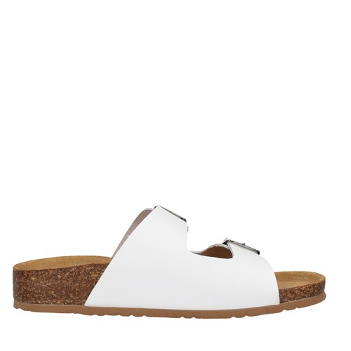 Bionatura Shoes Woman With wedge WHITE 11THESD