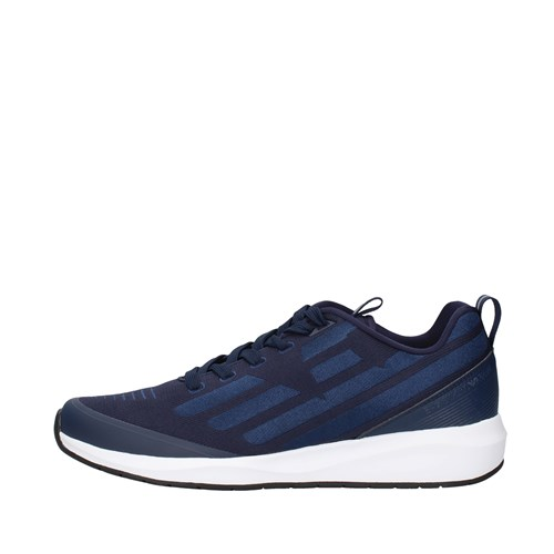 Ea7 Shoes Man low NAVY BLUE X8X031