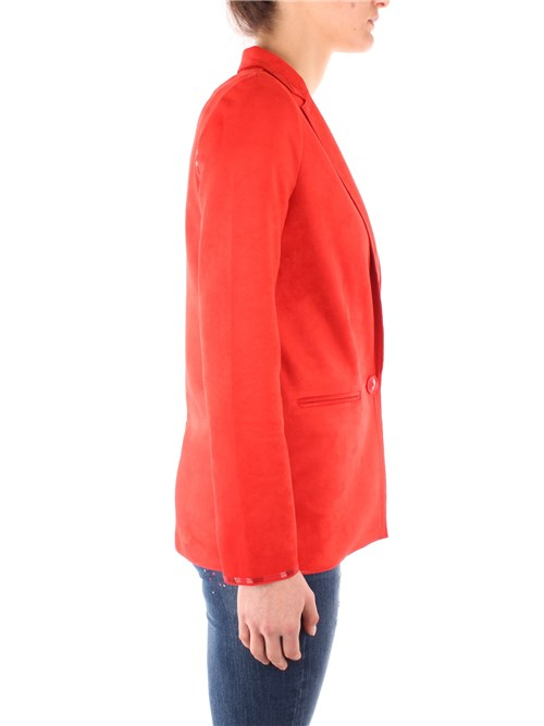 Desigual Clothing Woman Blazer ORANGE 20SWEWAM