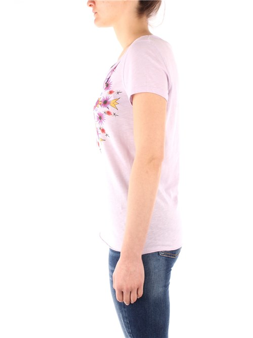 Desigual Clothing Woman Short sleeve PINK 20SWTKBE